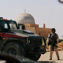 Боевики пытались подорвать конвой российской военной полиции в Сирии