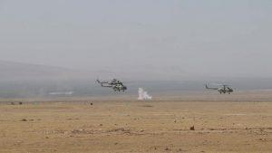 Пыль и камни. Российские военные провели учения в горах Таджикистана (+видео)