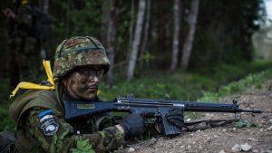 Британские морпехи не смогли преодолеть отпор ополченцев Эстонии