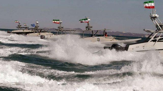 катеры КСИР Ирана