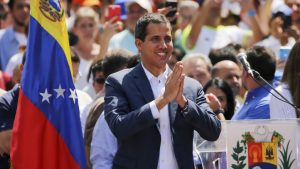 оппозиционер Венесуэлы Хуан Гуайдо