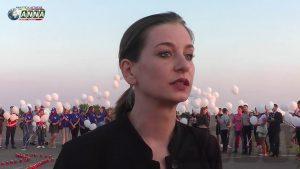 В Луганске вспоминают жертв катастрофы малайзийского Боинга
