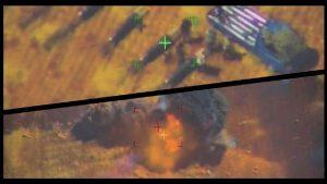 [Сирия] ВКС РФ стирают в пыль боевиков    Видео с беспилотника