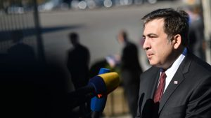 Экс-президент Грузии, лидер