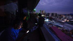 отключение электричества в Венесуэле