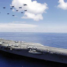 США и Британия пошлют к Ормузскому проливу корабли и истребители