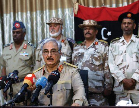 ливийский маршал Халифа Хафтар