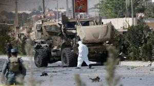 В Кабуле атакован конвой НАТО