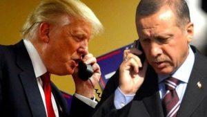 телефонный разговор Трампа и Эрдогана