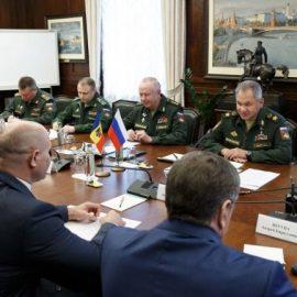 Шойгу: Молдавия и Россия наладят тесные связи в военно-технической сфере