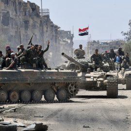 Сирийская армия начала наступление на севере провинции Хама