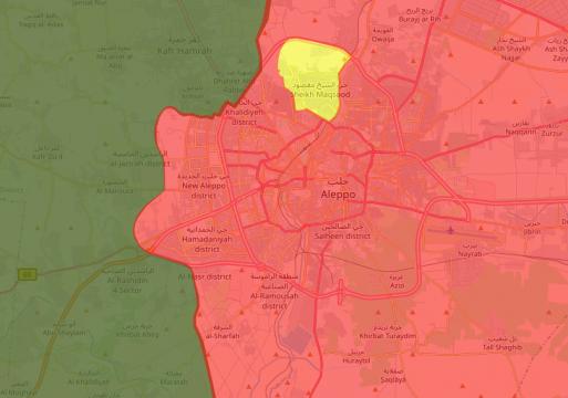 Четверо мирных граждан погибли при обстреле Алеппо