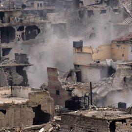 Боевики «умеренной оппозиции» обстреляли западную часть города Алеппо