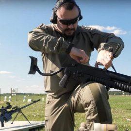 ГМ-94 — термобарический гранатомёт российского спецназа — [видео]