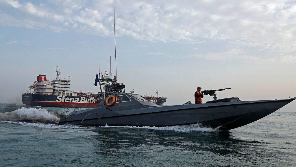 британский танкер Stena Impero и береговая охрана Ирана