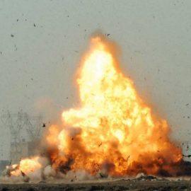 Мощный взрыв произошел на сирийской авиабазе в провинции Хомс