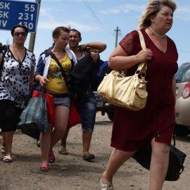 На Руине стало меньше переселенцев из Крыма и беженцев из Донбасса
