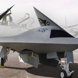 Первый полёт новейшего беспилотника «Охотник» — [видео]