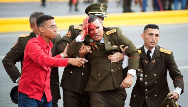 пострадавший военный во время покушения на Мадуро в 2018 году