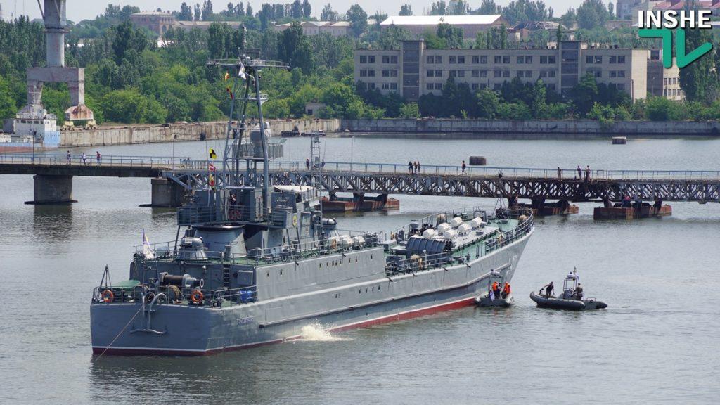 Порт Николаева принял десантный борт ВМСУ на ремонт