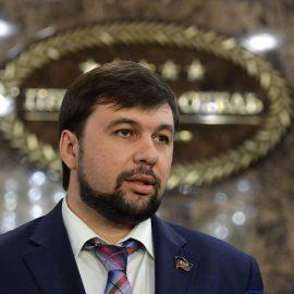 Украинские власти нагло врут о приверженности миру в Донбассе — Глава ДНР