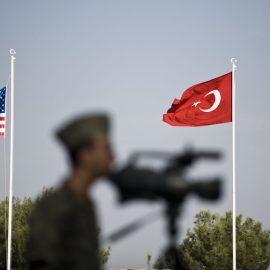 Турция и США создают центр совместных операций в Сирии