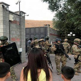 В Киргизии происходят вооруженные столкновения