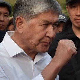 Спецназ Киргизии пошел на новый штурм резиденции Атамбаева