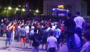 митинг сторонников Атамбаева в Бишкеке