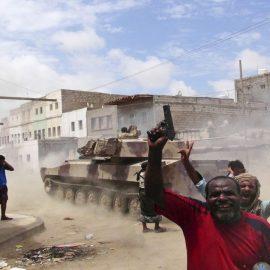 В Адене вспыхнули уличные бои
