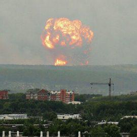 Новые взрывы прогремели на складе в Красноярском крае. Пострадали девять человек