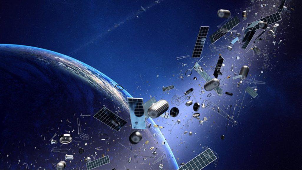 космический мусор на орбите Земли