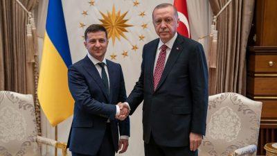 Зеленский выпросил у Эрдогана новое стратегическое партнёрство