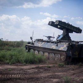 Небо на замке: Работа ПВО ЛНР попала в объектив военкоров
