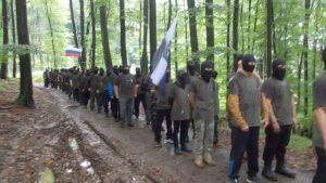 СМИ переполошили Словению статьей о «военизированном формировании» с флагами РФ