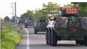 Китай направляет армейские подразделения в район Гонконга