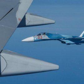 Истребитель НАТО попытался приблизиться к самолёту Шойгу — [видео]