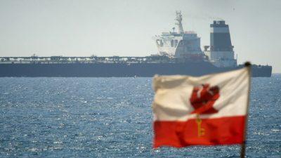 иранский танкер Grace1 в Гибралтаре