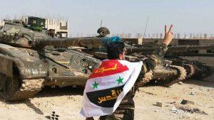 Элитные формирования сирийской армии после ожесточенных боев овладели четырьмя селениями на юге провинции Идлиб, расчистив себе проход к форпосту террористов в Хан-Шейхуне на стратегическом шоссе Дамаск – Алеппо.