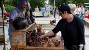 На этнофестиваль в Донецке приехали российские ремесленники