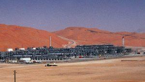 саудовский нефтяной объект в Шэйбе