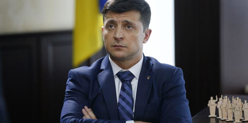 президент Украины Владимир Ззеленский