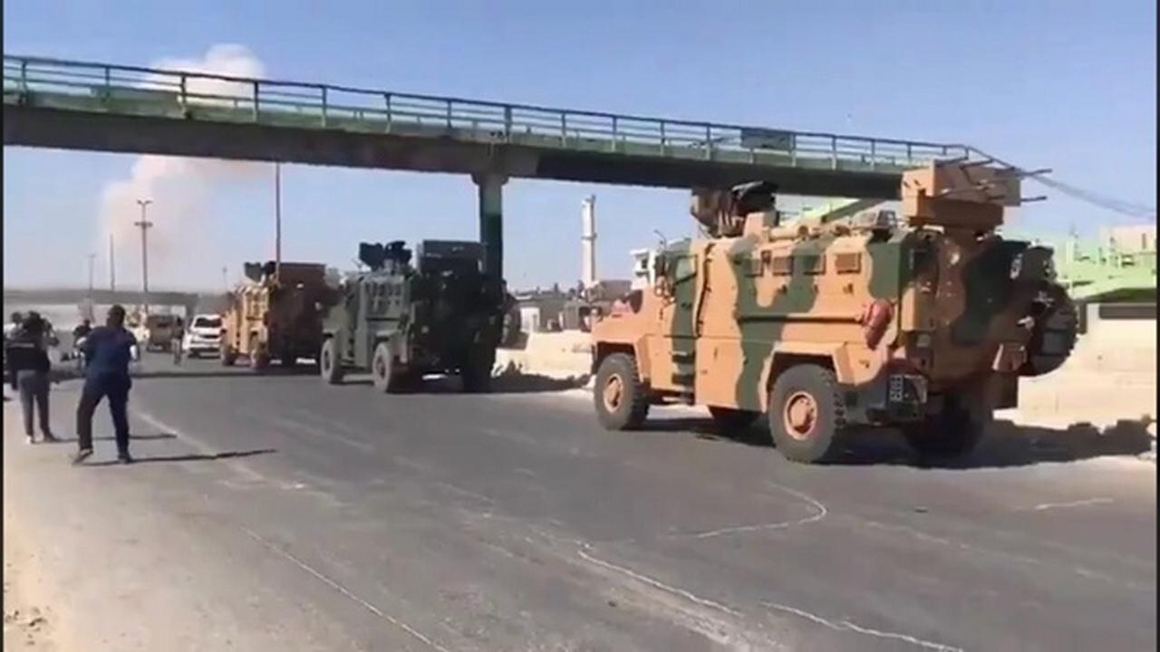 ВВС Сирии нанесли удар по турецкому конвою