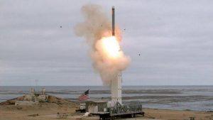 США провели испытание крылатой ракеты наземного базирования — [видео]