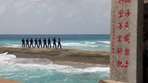 армия Китая в архипелаге Спратли
