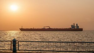 танкер, залив, морская блокада
