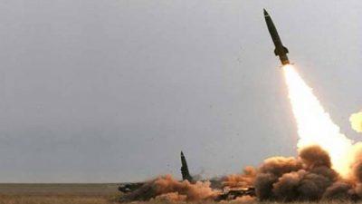 пуск баллистической ракеты хуситов