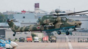 Ми-28Н ВКС России на севере провинции Латакия