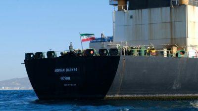 Иранский танкер Grace1, переименованный в Adrian Darya1