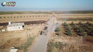 Эксклюзив: Первое видео с беспилотника из освобождённого севера провинции Хама
